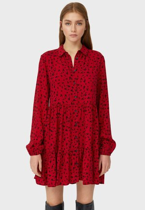 Robe chemise - red