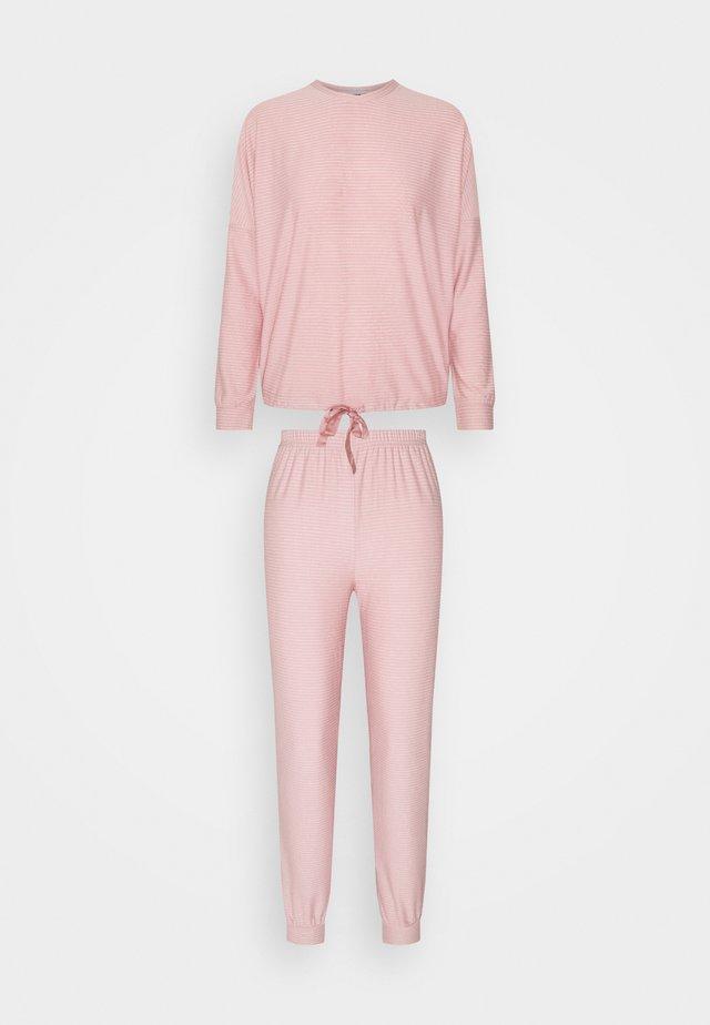 STRIPES - Pyžamo - light pink