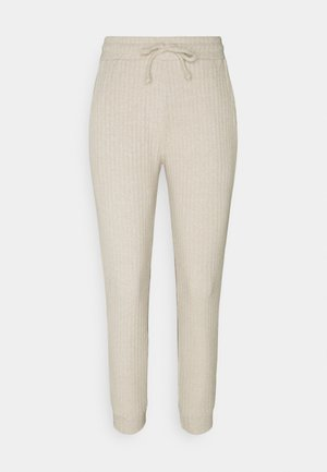 NEW COSY BRUSHED JOGGER SET - Top - stone