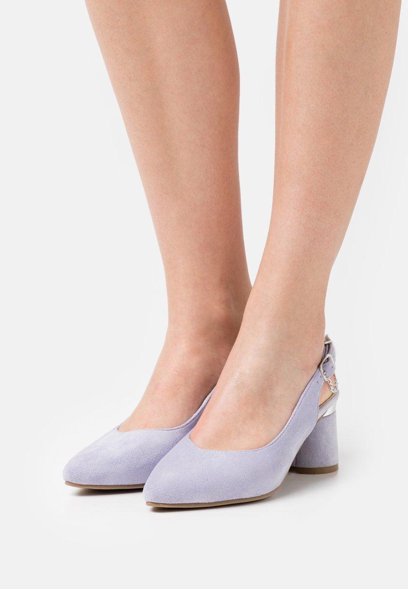 Simply Be - WIDE FIT TADLEY - Escarpins - lilac