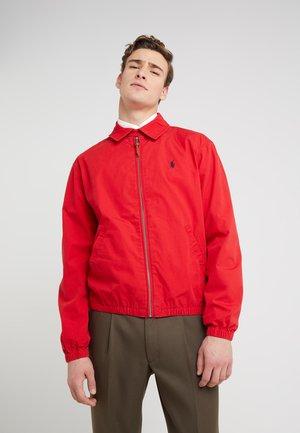 BAYPORT COTTON JACKET - Summer jacket - red