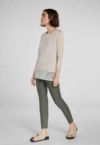 Oui - Jumper - light stone grey - 1