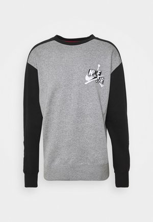 CREW - Sweatshirt - carbon heather/black