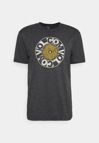 Volcom - VORTEXSPHERE - Print T-shirt - heather black - 0