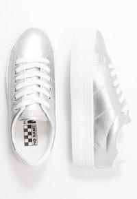 No Name - PLATO - Trainers - white/silver - 3