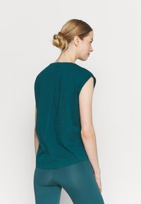 Even&Odd active - 2 PACK - T-shirt basic - purple/teal - 2