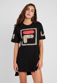 Fila - SKY DRESS - Day dress - black - 0