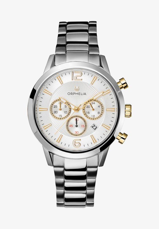 TEMPO - Cronografo - silver-coloured