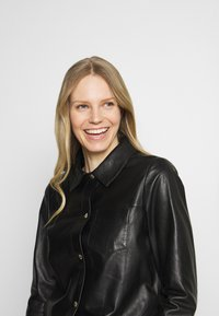 Oakwood - ANAE - Leather jacket - black - 3