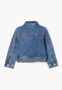 s.Oliver - MIT PAILLETTEN-DETAILS - Denim jacket - blue - 1