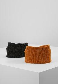 Even&Odd - 2 PACK - Ear warmers - mustard/black - 2