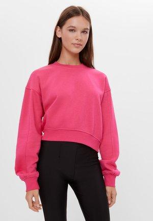 Mikina - neon pink