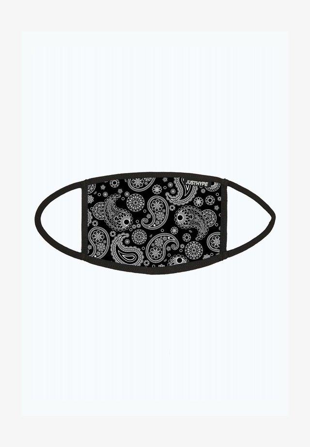 Community mask - black/white