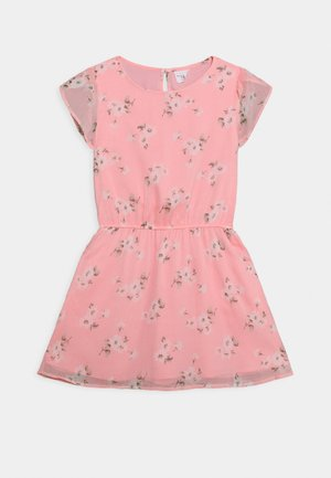 TULIP SLEEVE DRESS - Day dress - pink floral