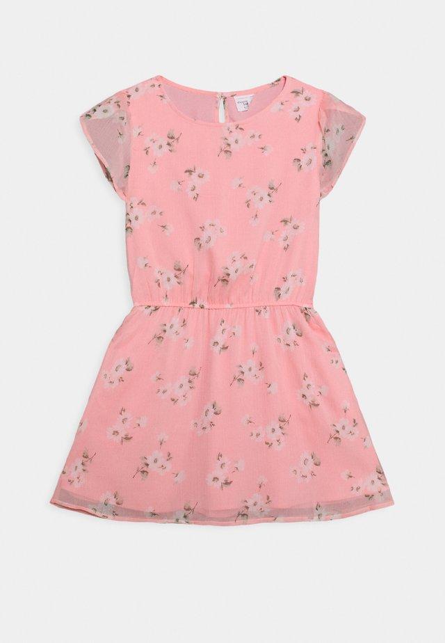 TULIP SLEEVE DRESS - Korte jurk - pink floral