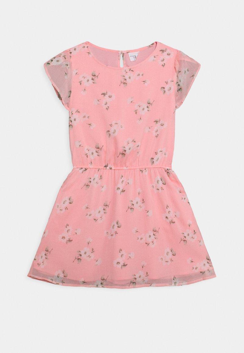 Abercrombie & Fitch - TULIP SLEEVE DRESS - Denní šaty - pink floral