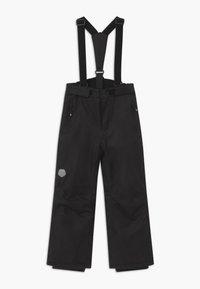 Color Kids - SKI PANTS SLIM - Spodnie narciarskie - black - 0