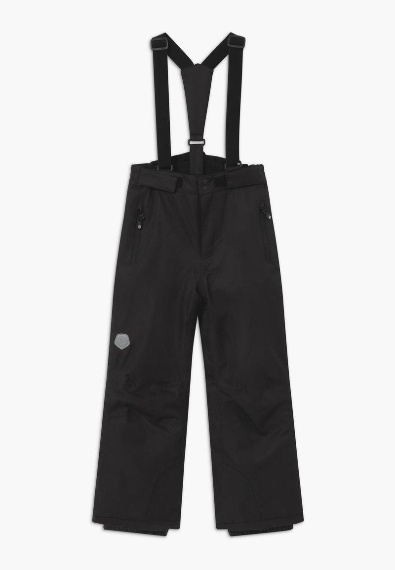 Color Kids - SKI PANTS SLIM - Spodnie narciarskie - black
