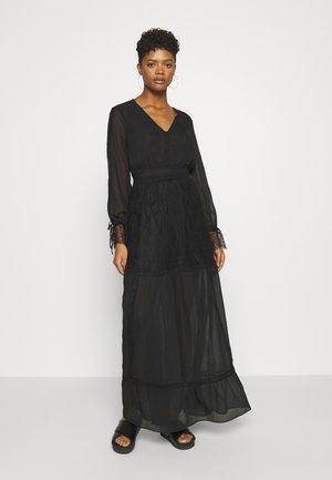 FLORA DRESS - Maxi dress - black