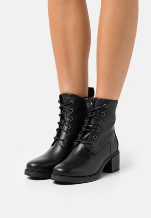 DALSTON VIBE BOOTIE ZIP - Lace-up ankle boots - black