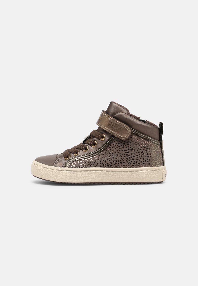 Geox - KALISPERA GIRL - Sneakers hoog - dark beige