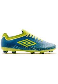 Umbro - Indoor football boots - teal, yellow - 2