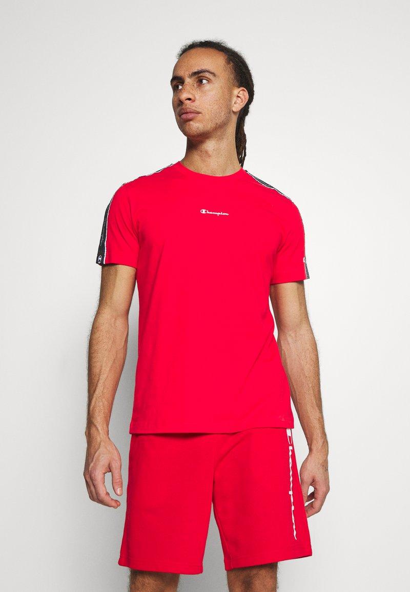 Champion - CREWNECK - T-shirt imprimé - red