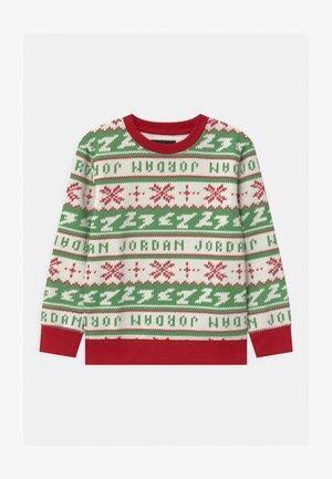 JUMPMAN HOLIDAY CREW - Sweatshirt - gym red