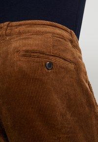 Pier One - Trousers - cognac - 5