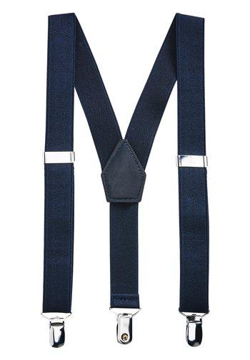 NAVY BOYS BRACES - Belt - blue