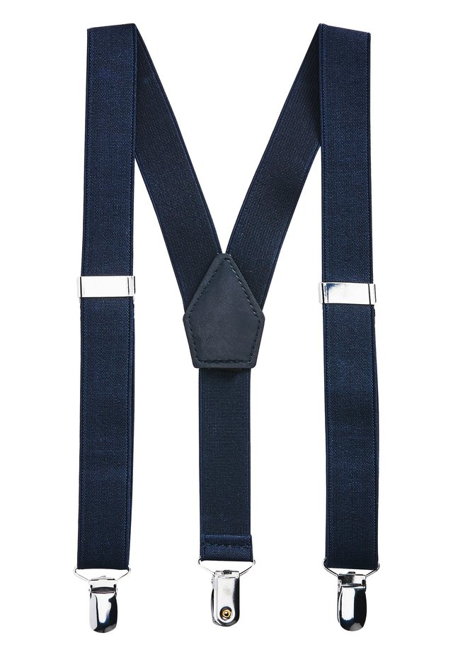 NAVY BOYS BRACES - Belt - blue