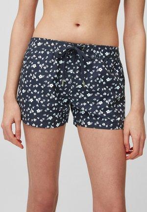 Swimming shorts - blueblack
