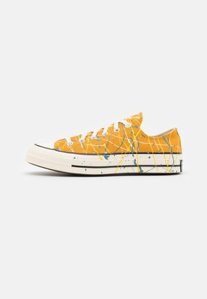 CHUCK 70 ARCHIVE PAINT SPLATTER PRINT UNISEX - Sneakers laag - sunflower gold/egret/aegean storm
