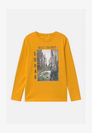 NMMODAR BOX - Longsleeve - golden rod