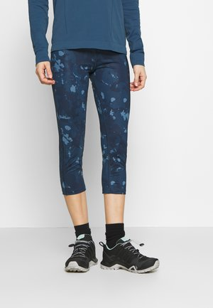 COMET MID - Legging - dark denim/copen blue