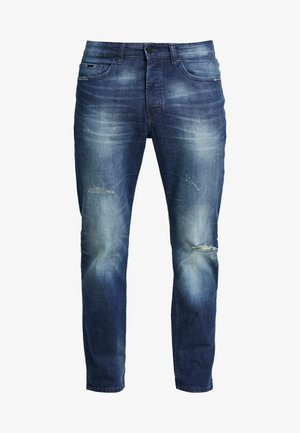 ONSAVI WASHED - Jeans Tapered Fit - blue denim