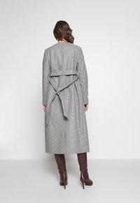 Dorothy Perkins Maternity - TWILL WRAP COAT - Winter coat - grey marl - 2