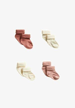 ROSITAS 4 PACK - Socks - rosa pallido