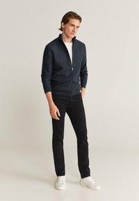 Mango - TENC - Vest - dunkelgrau meliert - 1