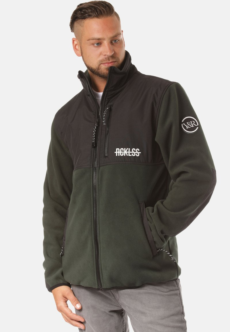 Young and Reckless - Fleece jacket - green