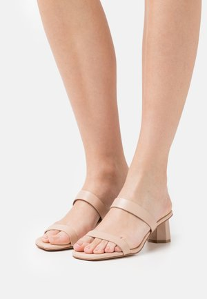 ETEALIA - Heeled mules - bone