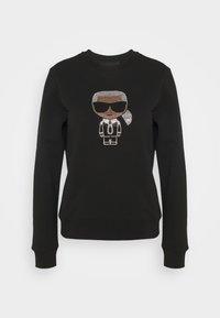 KARL LAGERFELD - IKONIK RHINESTONES  - Sweatshirt - black - 5