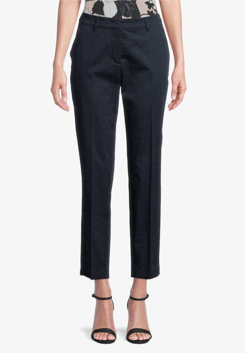 Betty Barclay - MIT BÜGELFALTE - Trousers - dunkelblau