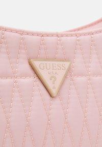 Guess - LAYLA TOP ZIP SHOULDER - Handbag - pink - 4