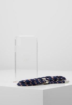 IPHONE 6/6s/7/7s/8 CASE NECKLACE - Phone case - blue pat