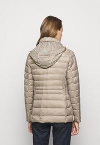 Lauren Ralph Lauren - SOFT COMBO MIXED QUILTS - Down jacket - taupe - 3