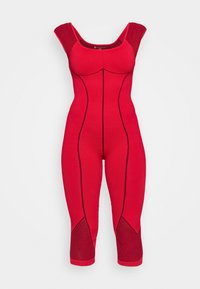 Free People - SOLID POINT BREAK ONESIE - Turnpak - dark red - 4