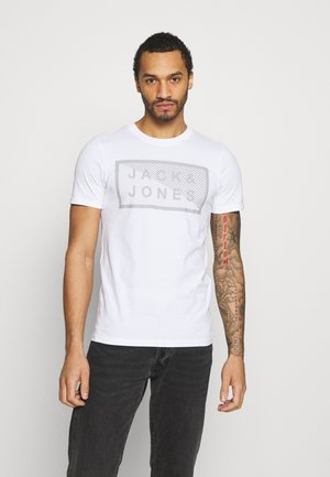 JCOSHAWN TEE CREW NECK - Print T-shirt - white