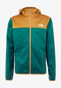 The North Face - MENS CYCLONE 2.0 HOODIE - Veste imperméable - night green/british khaki - 3