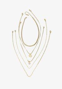 Stradivarius - 5 SET - Necklace - yellow - 2